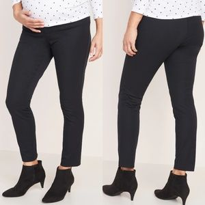 Old Navy Maternity Black Pixie Ankle Pants